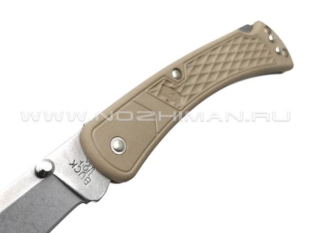 Buck 110 Slim Select Tan 0110BRS2 сталь 420HC рукоять GFN