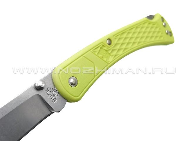 Buck 110 Slim Select Green 0110GRS1 сталь 420HC рукоять GFN