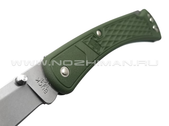 Buck 110 Slim Select OD Green 0110ODS2 сталь 420HC рукоять GFN