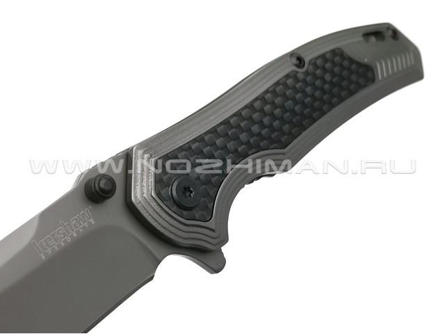 Нож Kershaw Fringe 8310 сталь 8Cr13MoV, рукоять Carbon fiber, stainless steel