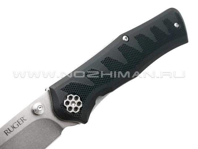 Нож CRKT Ruger Crack-Shot R1205 сталь 8Cr13MoV, рукоять Glass Reinforced Nylon