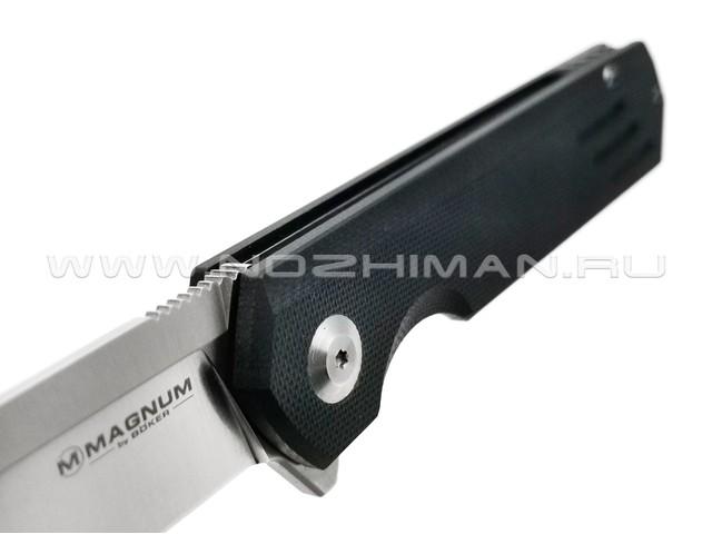 Нож Magnum Ashigaru 01SC064 сталь 440C, рукоять G10 black