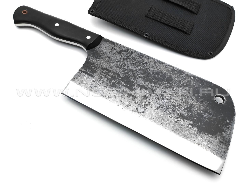 Тяпка №1 сталь 9ХС, рукоять граб (Титов & Солдатова)