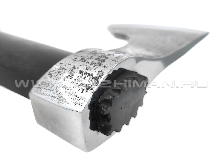 Топор-ТМП сталь У8А полированная, топорище граб (Титов & Солдатова)