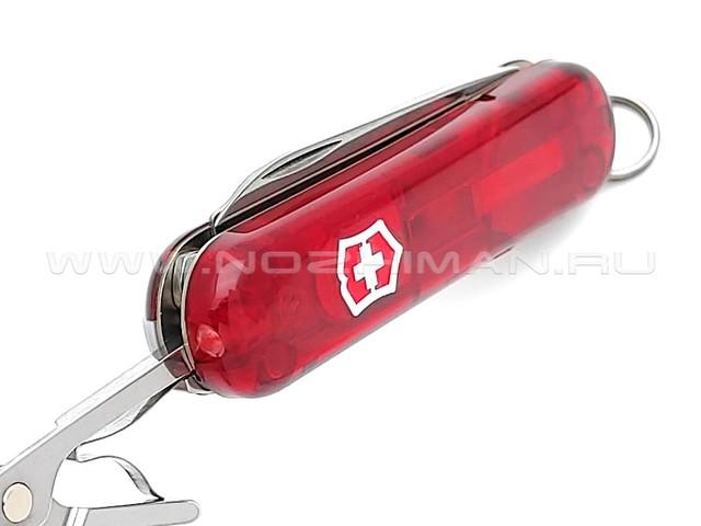 Швейцарский нож Victorinox 0.6228.T SwissLite Red Transparent (8 функции)