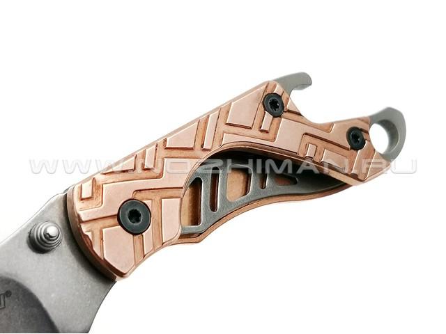 Нож Kershaw Cinder Copper 1025CUX сталь 3Cr13MoV рукоять Медь