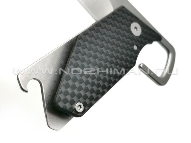 Нож Kershaw Pub 4036CF сталь 8Cr13MoV рукоять Carbon fiber, stainless steel