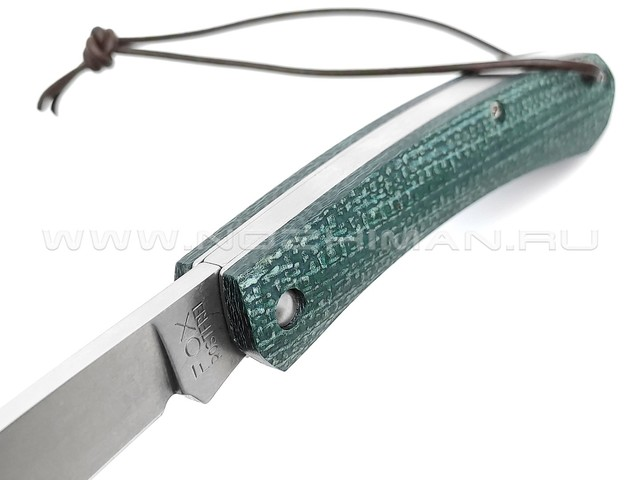Нож Fox Nauta FX-230 MI G сталь 420, рукоять джутовая микарта