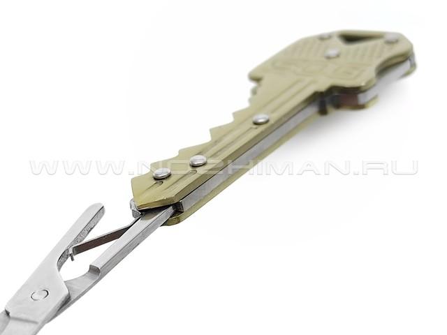 Ножницы брелок SOG Key Scissors KEY202 stainless steel