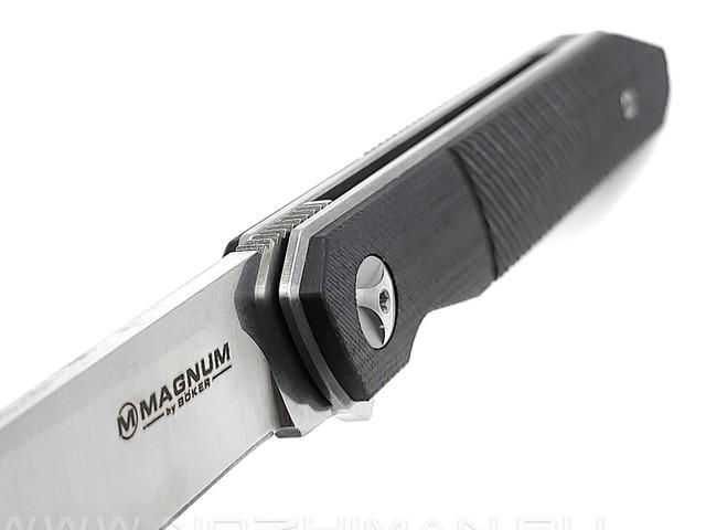 Нож Magnum Miyu 01SC060 сталь 440A, рукоять G10 black