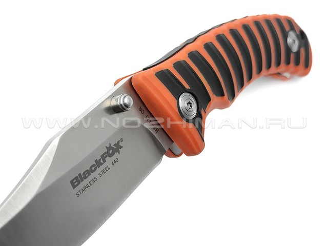 Нож Black Fox Clip Point Orange BF-131OR сталь 440, рукоять GFN, kraton