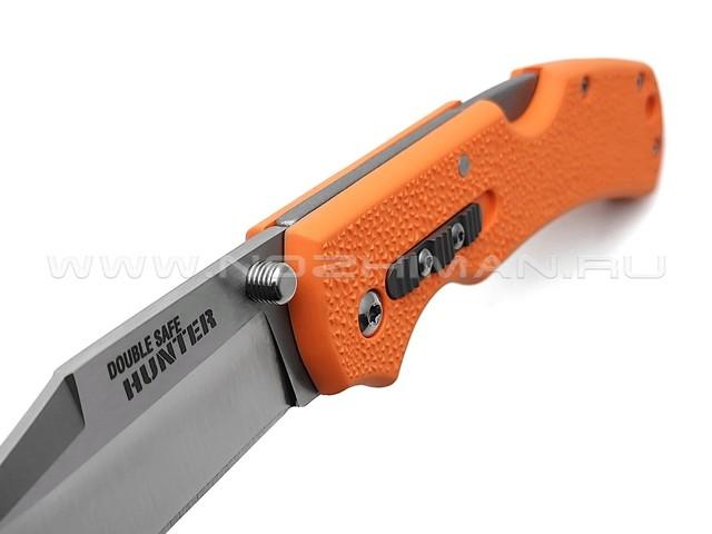 Нож Cold Steel Double Safe Hunter 23JB сталь 8Cr13MoV, рукоять GFN Orange