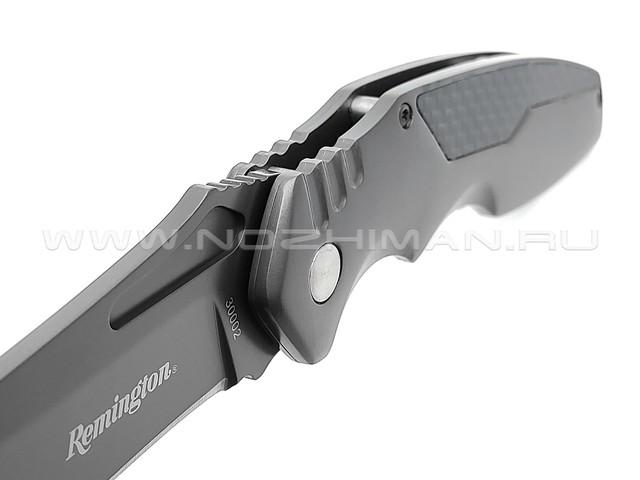 Нож Remington R30002 сталь 420J2, рукоять Stainless steel, carbon fiber