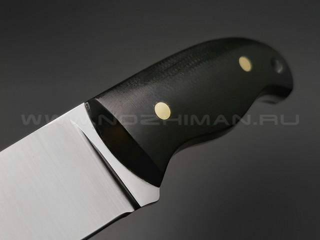 """Нож """"Шейный"""" сталь K340, рукоять G10 (Тов. Завьялова)"""