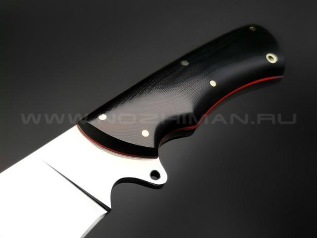 "Нож ""Тайга"" сталь K340, рукоять G10 black (Тов. Завьялова)"