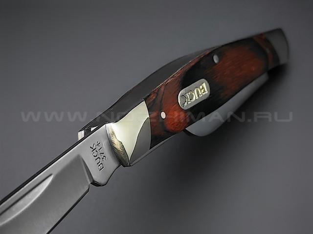 Нож Buck 371 Stockman 0371BRS сталь 420J2 рукоять Дерево и нейзильбер