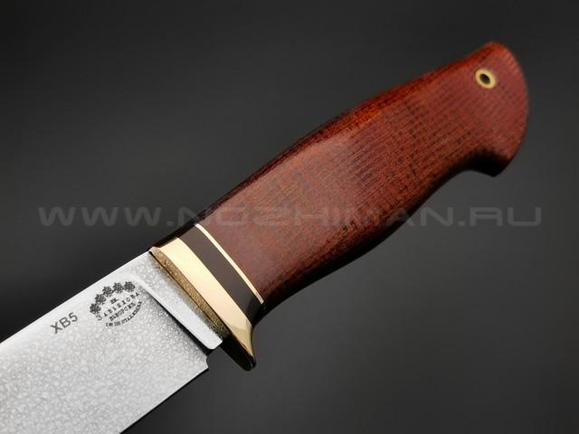 """Нож """"Скинер-Б"""" сталь ХВ5, рукоять текстолит (Тов. Завьялова)"""
