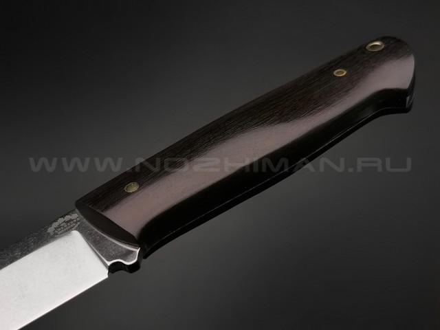 """Нож """"Цезарь"""" сталь Sleipner, рукоять граб (Тов. Завьялова)"""
