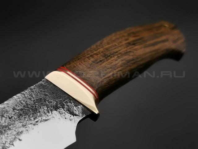 """Нож """"Бунтарь"""" сталь 9ХС, рукоять мореный дуб (Наследие)"""