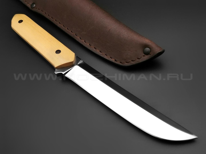 "Нож ""Танто-М"" сталь sleipner, рукоять самшит (Тов. Завьялова)"