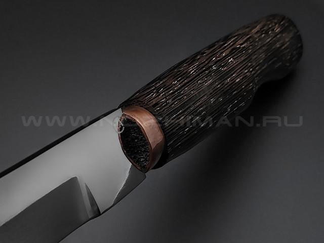 """Нож """"Сапер-Т"""" сталь 95Х18, рукоять венге (Титов & Солдатова)"""