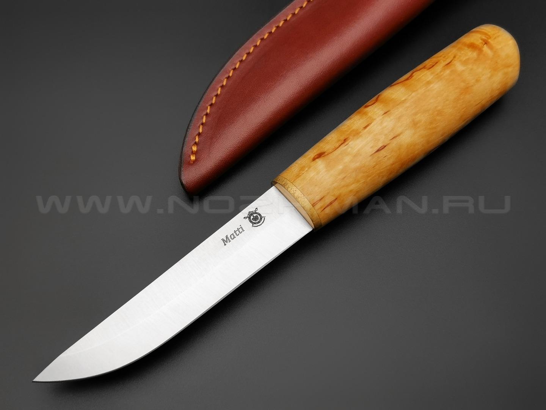 Северная Корона нож Matti сталь 95Х18 рукоять карельская береза