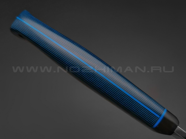 Apus Knives нож Last Chance сталь N690, рукоять G10 Black & Blue