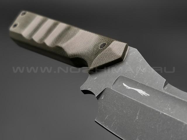 Волчий Век нож Карачун большой сталь PGK WA, рукоять микарта