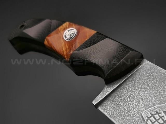 Волчий Век нож Шихан (Восставшая резервация) сталь PGK WA, рукоять G10 black