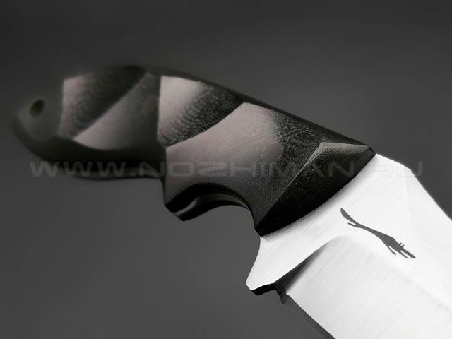 Волчий Век нож Кондрат 10 сталь Niolox WA, рукоять G10 black