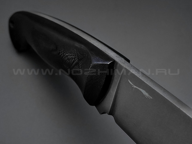 Волчий Век нож Ямской сталь PGK WA, рукоять G10 black