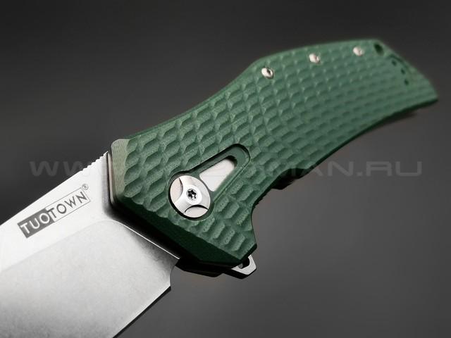 TuoTown нож JJ066-CG сталь D2, рукоять G10 hunter green