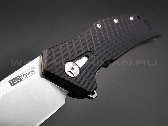 TuoTown нож JJ066-B сталь D2, рукоять G10 black