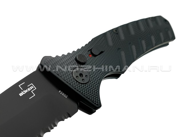 Нож Boker Plus Strike Black Tanto 01BO401, сталь Aus 8, рукоять Aluminum 6061