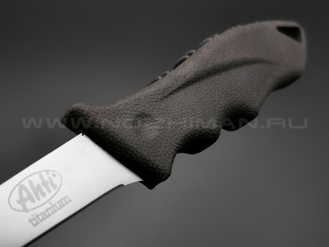 Филейный нож Ahti 130 Titanium 9664A нержавеющая сталь, рукоять резина