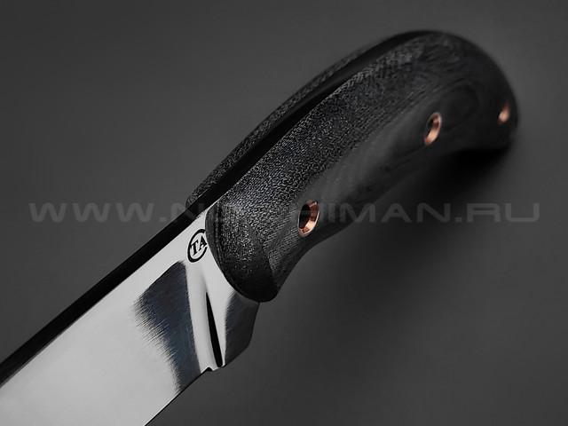 "Нож ""Север-4"" сталь 95Х18, рукоять микарта (Титов & Солдатова)"