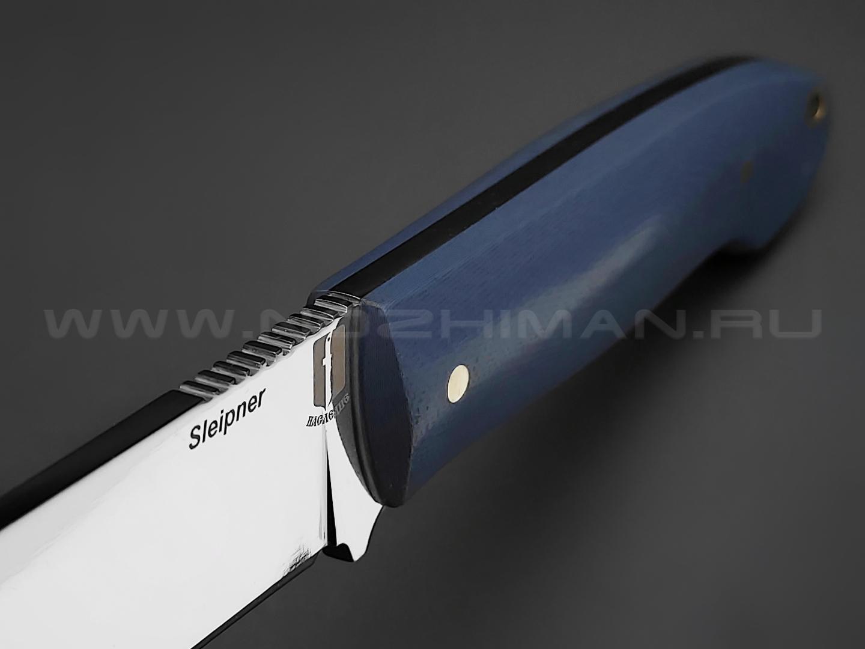 """Нож """"Цезарь"""" сталь Sleipner, рукоять G10 (Товарищество Завьялова)"""