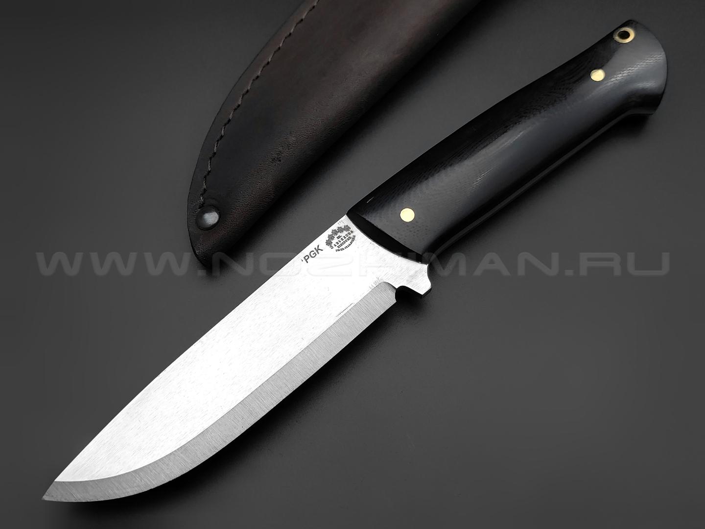 "Нож ""Бригадир"" сталь PGK, рукоять G10 black (Товарищество Завьялова)"