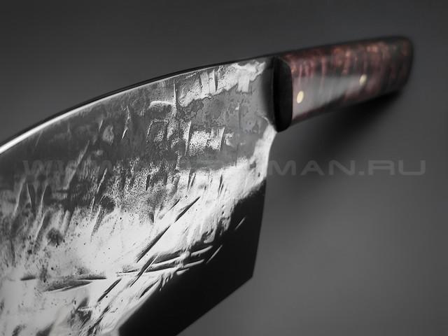 """Нож """"Сербский Шеф"""" сталь K340, рукоять карельская береза (Товарищество Завьялова)"""