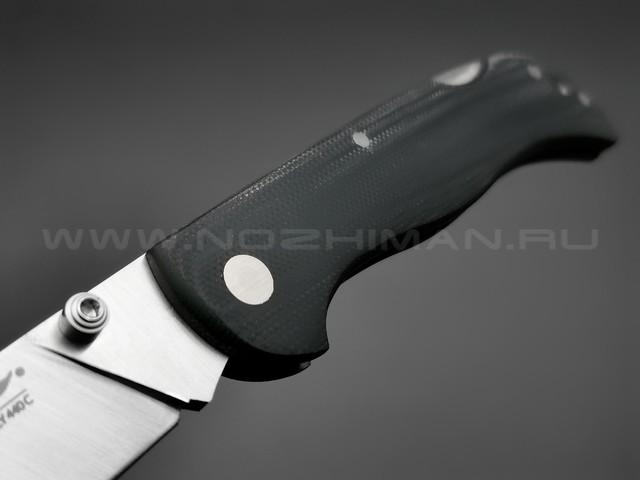 Нож Fox 500 B, сталь 420C, рукоять G10 black