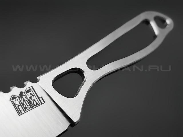 """1-й Цех нож """"Китеж Град"""" сталь 440C, рукоять сталь"""