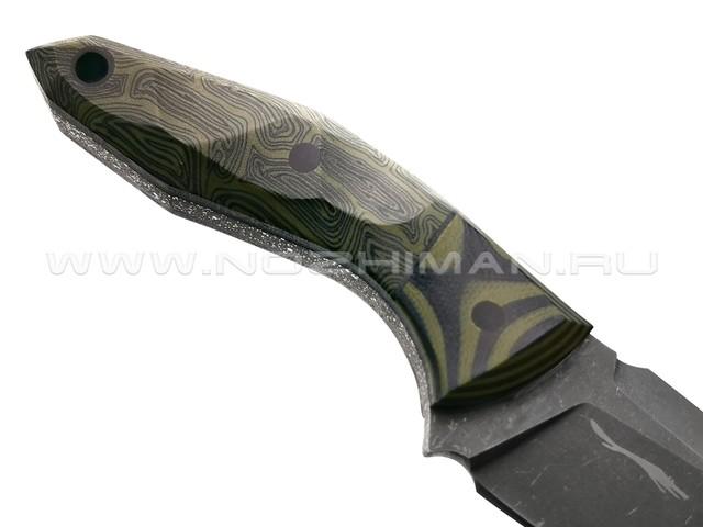 Волчий Век нож МасичЬка Brutal Edition сталь PGK WA, рукоять комбинированная G10