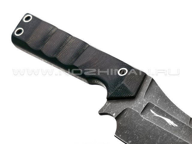 Волчий Век нож Карачун сталь Niolox WA, рукоять Микарта