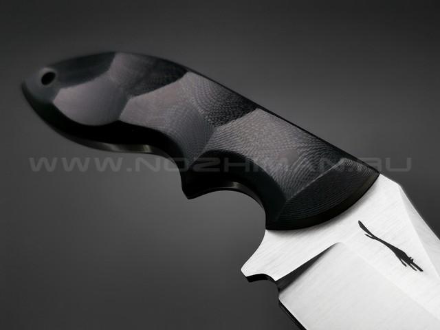 Волчий Век нож Кондрат 12 сталь Niolox WA, рукоять G10 black