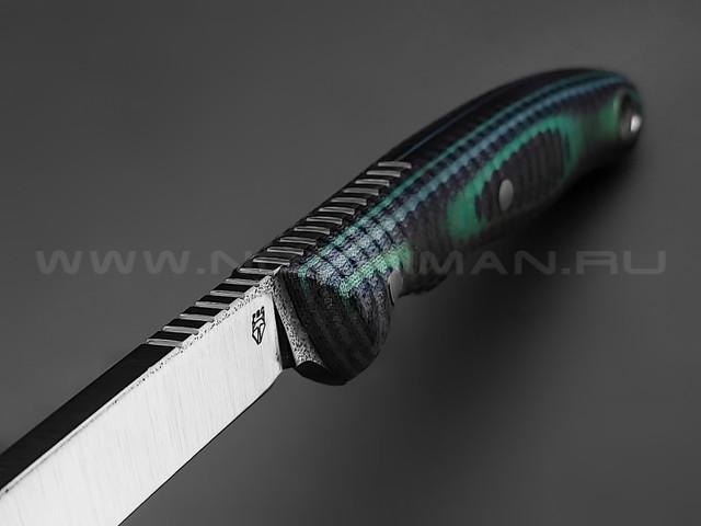 РВС нож Угорь сталь N690, рукоять микарта