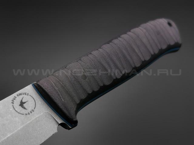 Apus Knives нож Raider Bush сталь N690, рукоять G10 Black