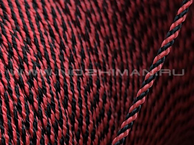Micro Cord Black & Red