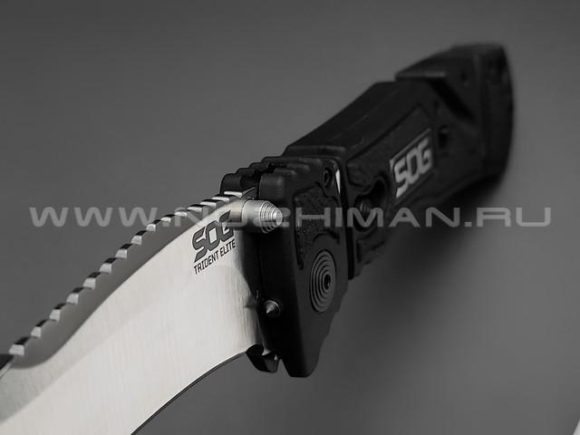 Нож SOG Trident Elite TF101 сталь Aus-8, рукоять Glass Reinforced Nylon