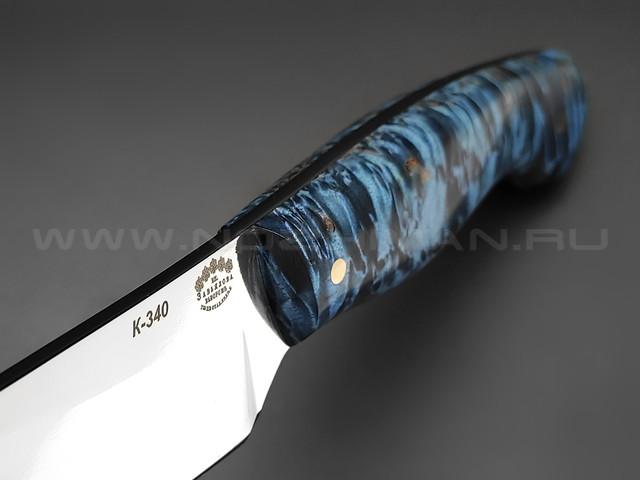 """Нож """"Додичи"""" сталь K340, рукоять карельская берёза (Товарищество Завьялова)"""