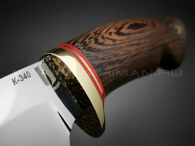"""Нож """"Гном"""" сталь K340, рукоять дерево венге (Мастерская Наследие)"""